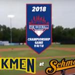 FBL 2018 Championship Game